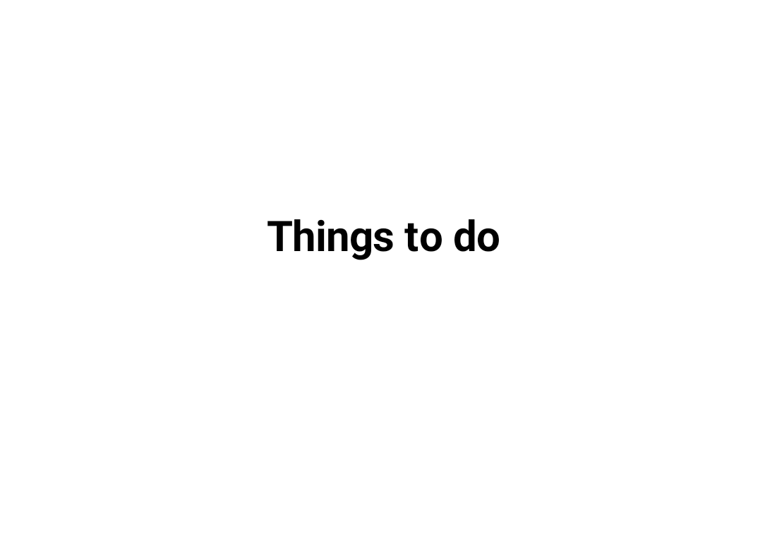 things to do simplemind