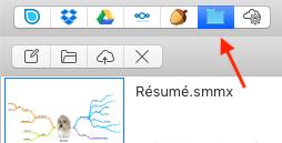 use any cloud or folder