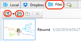 files tab in windows